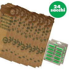 24 SACCHI FILTRO + 20 PROFUMI FOLLETTO VK120 VK121 VK122 ADATTABILE