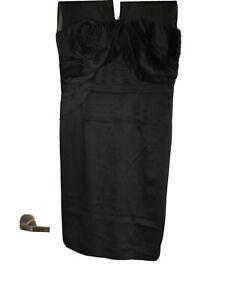 Karen Millen Black Dress New With Tags Size 14 UK/12 Australia