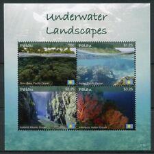 Palau 2017 MNH Underwater Landscapes Bora Bora 4v M/S Tourism Coral Stamps