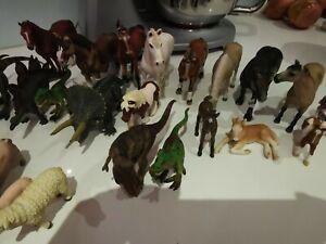 Schleich Animals Bulk Lot (approximately 100 pieces)