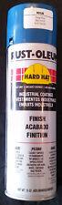 6 Cans 15 Oz Each Rust-Oleum Hard Hat Deep Blue Enamel Spray Paint #8