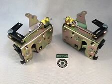 Bearmach Land Rover Defender Front Door Lock Catch SET, Equiv FQJ500250, FQJ5002