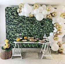 DIY Balloon Garland Kit White/Gold/Confetti Latex Balloons Party Decoration