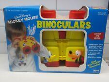 New listing Walt Disney's Mickey Mouse Binoculars Vintage Toy Illco Pluto Donald Nos