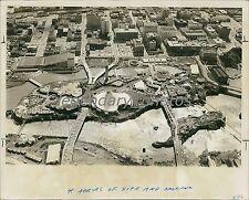 1974 Aerial View of Expo in Spokane Washington Original News Service Photo