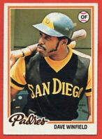 1978 Topps #530 Dave Winfield EX-EXMINT+ HOF San Diego Padres FREE SHIPPING