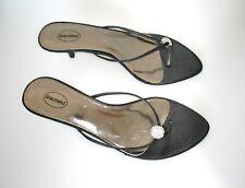 GRACELAND 2000s shoe little heel stars GLAM Sandale Schuhe slip-ons mules sz. 40