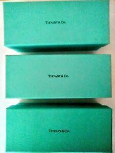 Tiffany & Co. Empty Rectangular Gift Boxes (3)