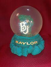 Baylor Bears 6.5� Snow Water Green Glitter Globe Swc football sic 'em Big 12