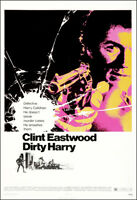 Dirty Harry Movie Poster Print - 1971 - Action - 1 Sheet Artwork Clint Eastwood