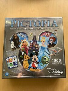Pictopia: Disney Edition (2014) The Ultimate Picture-Trivia Game! *1 token short