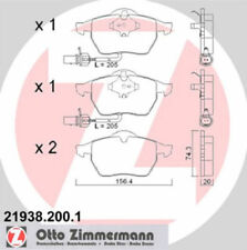 ZIMMERMANN Bremsklotzsatz Bremsbeläge Bremsklötze vorn 21938.200.1 Audi