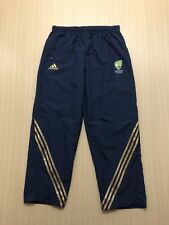 ADIDAS CRICKET AUSTRALIA TRACK PANTS WOMENS ~ SZ 16 ~ GREAT COND ACTIVE TROUSERS