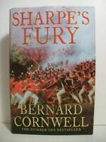Cornwell, Bernard   SHARPE'S FURY   Signed UK HCDJ 1st/1st NF