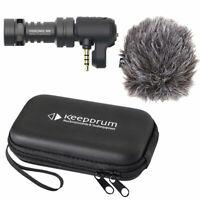 Rode Videomic ME Mikrofon für Smartphone Tablet + keepdrum Soft-Case