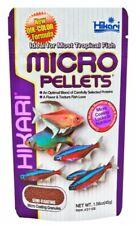 Hikari Micro Pellets Microplates Small Freshwater Tropical Fish Food Barbs Mouth