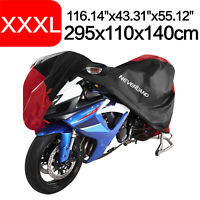 XXXL Heavy Duty Motorcycle Scooter Cover Waterproof Outdoor Rain Dust Protector