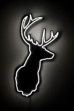 """New Deer Head Wall Decor Beer Bar Neon Sign 20""""x16"""""""