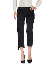 NWT Dondup Casual Pants, Black, Cotton, Italy, sz 29 (US 6), MSRP $167