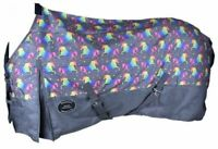 Showman Unicorn Print 1200D Waterproof & Breathable Turnout Sheet