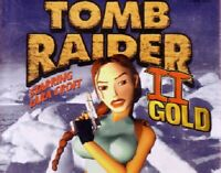 Tomb Raider II Gold Pc New 2 New Cd Roms Sealed In Paper Sleeves Win10 8 7 XP