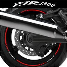 LISERETS JANTES MOTO FJR 1300 STICKERS kit pour 2 jantes 40 colors
