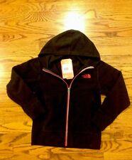 North Face fleece Jacket  boys size Large 14/16 NWT $45 black full zip hoodie