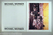 Sigmar Polke Art Gallery Exhibit Double-Page PRINT AD - 1989