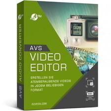 Avs Video editor 8.0 versión completa alemana descarga Lifetime 34,99 en lugar de 58,99!