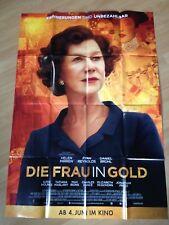 Filmposter * Kinoplakat * A0 * Die Frau in Gold * 2015 * Regie: Simon Curtis