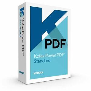 Kofax Power PDF Standard 3.1 Windows ESD, Digital Shipping, New