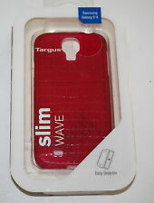 TARGUS SLIM WAVE CASE FOR SAMSUNG GALAXY S4 -TFD03501EU-  RED - NEW