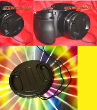 SNAP-ON FRONT LENS CAP to Canon Powershot SX40HS SX30IS SX20IS SX10IS SX1+HOLDER