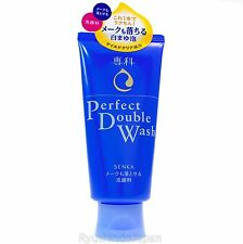 2016 NEW SHISEIDO Perfect Double Wash Makeup Removing Facial Cleanser 120g