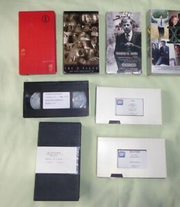 X-FILES EMMY CONSIDERATION AND EPK VHS TAPES