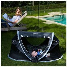 Be Be Care Travel Dome Black Porta Cot Playpen Travel Play Sleep