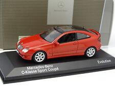 Minichamps 1/43 - Mercedes Classe C Sport Coupe Rouge