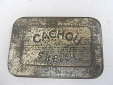 Ancienne boite en fer blanc Cachou Skelly vers 1920