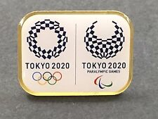Tokyo Olympics 2020 Candidate City Pin Badge Olympic Paralympic Games JAPAN