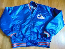 VINTAGE CHALK LINE NFL NEW YORK GIANTS NYLON JACKET SIZE L MADE IN THE US