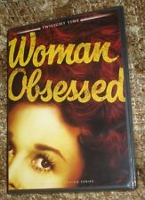 WOMAN OBSESSED DVD, NEW & SEALED, WIDESCREEN, LIMITED EDITION (3000 UNITS) RARE