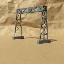 NEWLY-BUILT ~ SIGNAL BRIDGE by Model Power ~ N Scale Lot ~ Mayhayred Trains