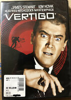 Vertigo (DVD) James Stewart, Kim Novack NEW Sealed (Alfred Hitchcock)