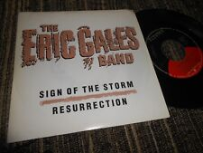 """THE ERIC GALES BAND SIGN OF THE STORM/RESURRECTION 7"""" 1991 ELEKTRA PROMO SPAIN"""