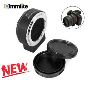 Commlite CM-ENF-E1 PRO AF Lens Adapter for Nikon F to Sony E-mount Sony A9 A7R2