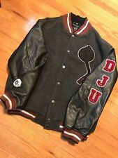 Vintage Def Jam University Letterman Varsity Jacket 2XL Avirex Wu Wear HIPHOP