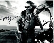 MARK BOONE JNR SIGNED SONS OF ANARCHY PHOTO UACC REG 242