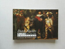 DUTCH MASTERS RIJKS MUSEUM AMSTERDAM - A BOOK OF POSTCARDS - 23 POST CARDS