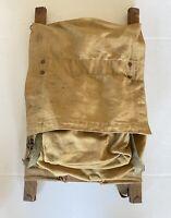 Vintage Original TRAPPER NELSON INDIAN  PACK Boards BACKPACK Traeger Seattle WA