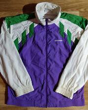 Adidas Originals 90's Vintage Mens Track Jacket Nylon Hype Multicolor Purple